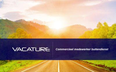 VACATURE: Commercieel medewerker buitendienst